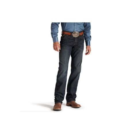 Calça Jeans Masculina Ariat M2 Relaxed Legacy Boot Cut Stone 29